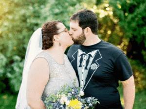 Casamento em montanha-russa nos EUA - Acervo pessoal - Acervo pessoal