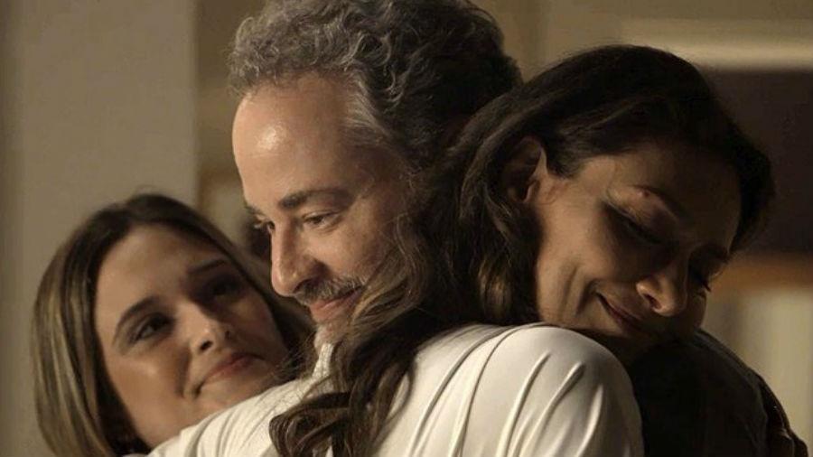 Juliana Paiva, Dan Stulbach e Maria Fernanda Cândido - Reprodução/Instagram