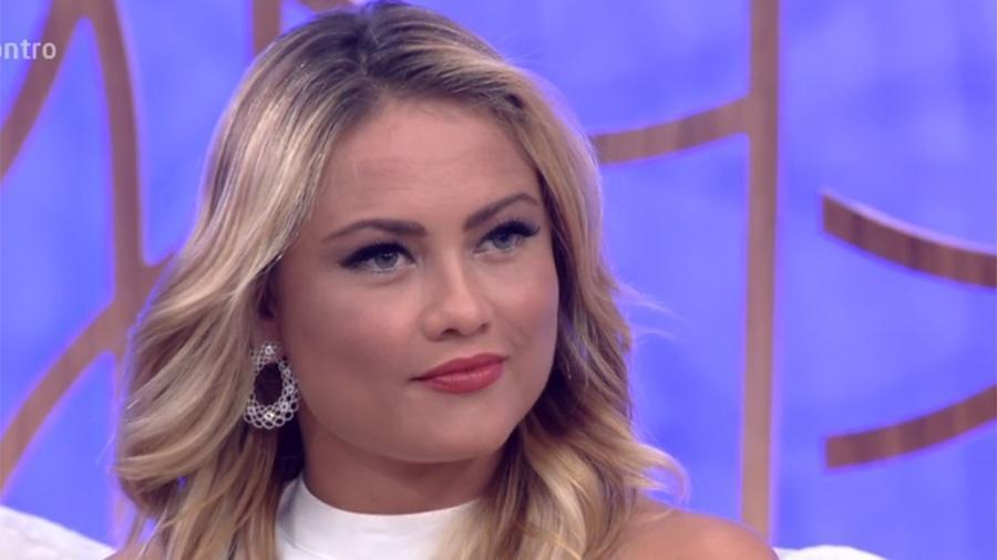 Ellen Rocche conta que comprou spray de pimenta para se defender de abusadores - Reprodução/Globo