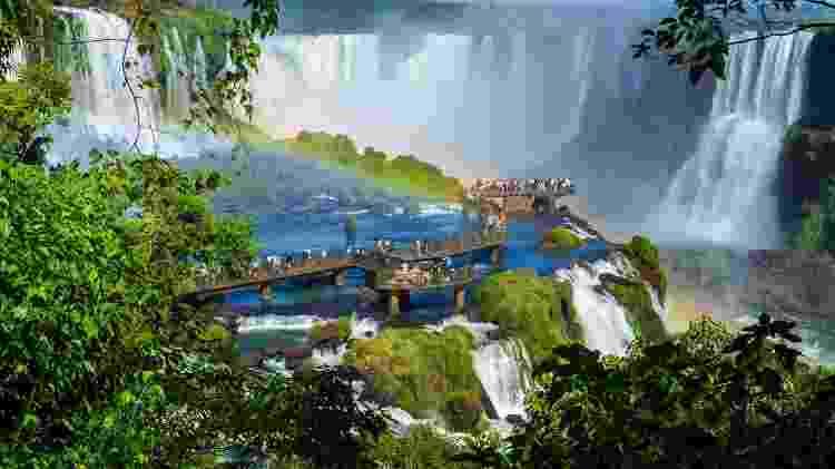 As Cataratas de Foz do Iguaçu - iStock