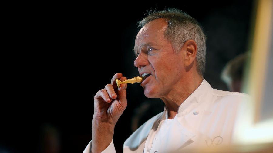 O chef Wolfgang Puck está há 24 anos responsável pelo banquete do Oscar - REUTERS/Mario Anzuoni