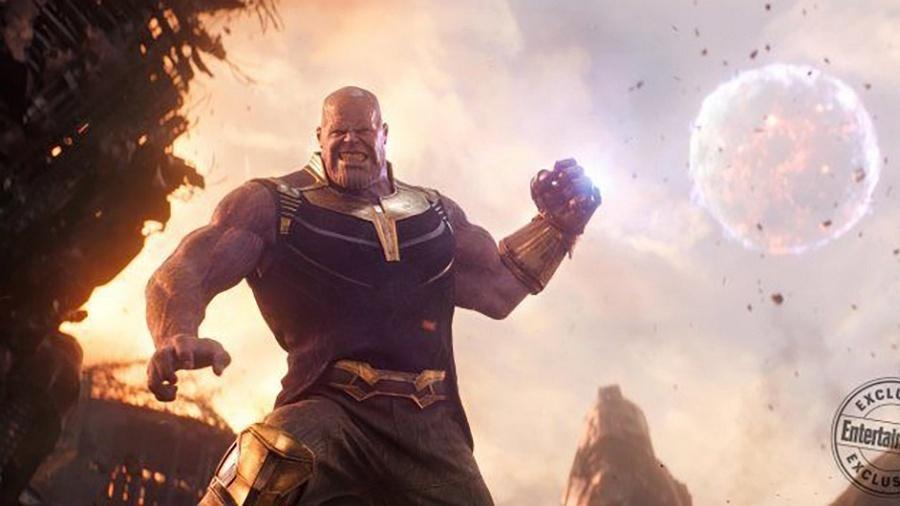"""Thanos em cena de """"Vingadores: Guerra Infinita"""" - Reprodução"""