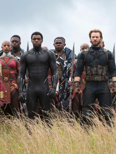 "Cena de ""Vingadores: Guerra Infinita"" - Chuck Zlotnick/Marvel"