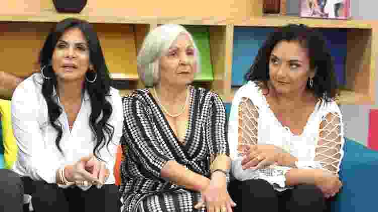 Gretchen, Dona Maria José e Deusilene - Thiago Duran/AgNews - Thiago Duran/AgNews