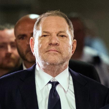 Harvey Weinstein na chegada à corte dos EUA para se declarar inocente da acusação de estupro, em junho - Eduardo Munoz Alvarez/AFP