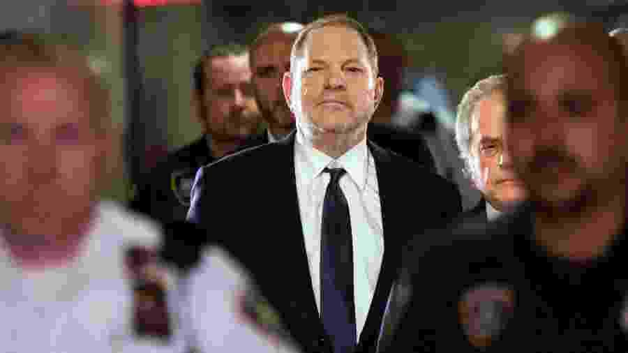 O produtor e magnata de Hollywood Harvey Weinstein  - Eduardo Munoz Alvarez/AFP