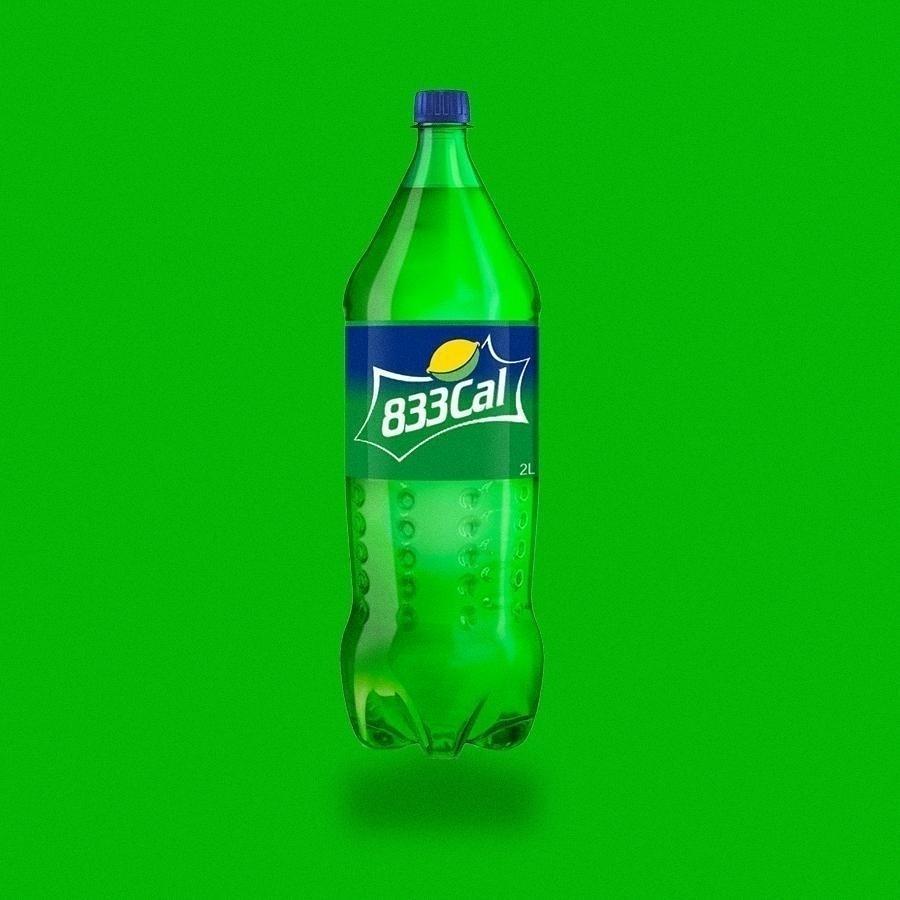 Informação de utilidade pública para aqueles que substituem a água por refrigerante. Pode ser na garrafa de 2 litros...
