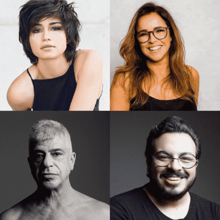 Luis Lobianco faz post e marca Nanda Costa, Daniela Mercury e Lulu Santos - Reprodução/Instagram
