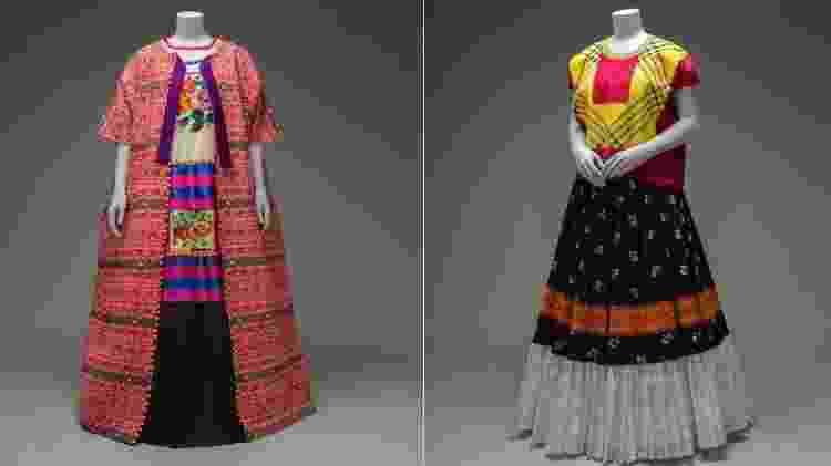 Vestidos tradicionais usados por Frida Kahlo - Victoria and Albert Museum - Victoria and Albert Museum