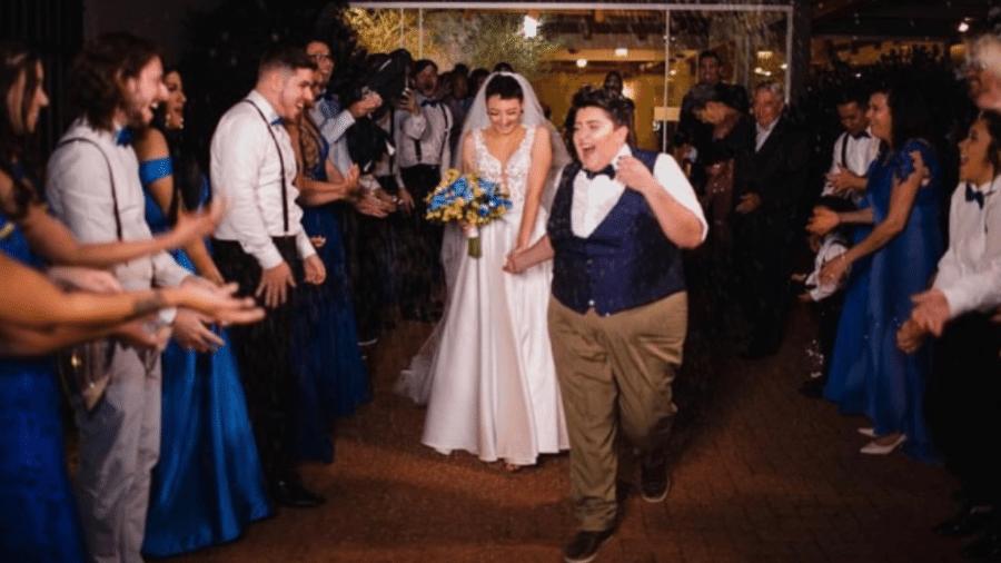 Ana Vilela e Amanda, a Madô, se casam no Paraná - Reprodução/Instagram