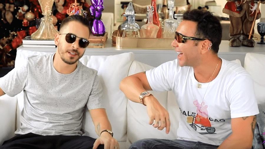 Junior Lima é entrevistado por Matheus Mazzafera - Reprodução/Instagram