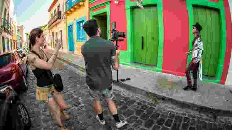 """Making of da gravação do clipe """"Nas Asas De Um Passarinho"""", de Alceu Valença, em Olinda (PE) - Lumus Estúdio/Divulgação"""