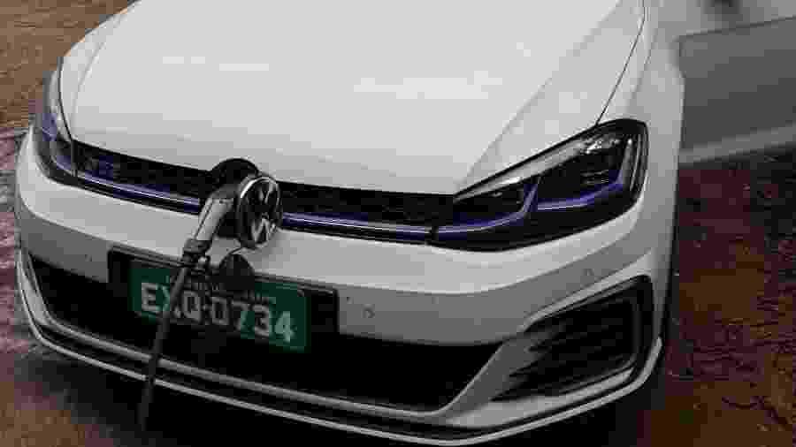 Volkswagen Golf GTE apareceu pela primeira vez no Brasil no Salão do Automóvel de 2014 - Leonardo Celli Coelho/Colaboração para UOL Carros