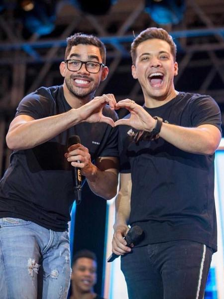 Gabriel Diniz e Wesley Safadão - Reprodução/Instagram/wesleysafadao