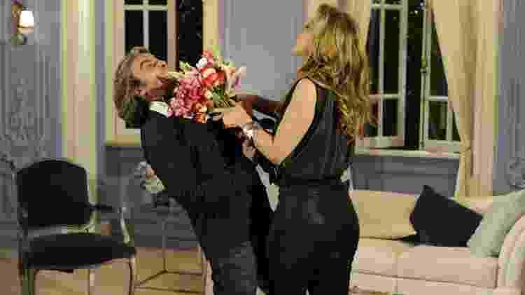 Jaqueline (Claudia Raia) e Jacques (Alexandre Borges) em Ti-ti-ti (2011) - Renato Rocha Miranda/Globo