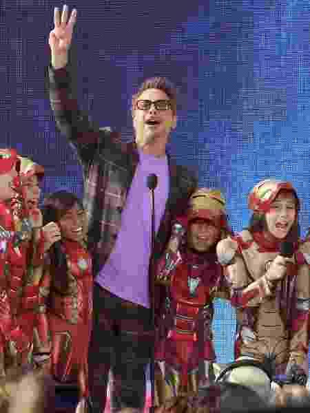 Robert Downey Jr. durante o Teen Choice Awards - Kevin Winter/Getty Images - Kevin Winter/Getty Images