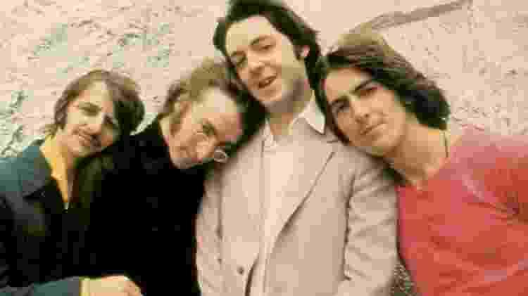 Os Beatles pouco antes da separação, selada em 1970 - Reprodução
