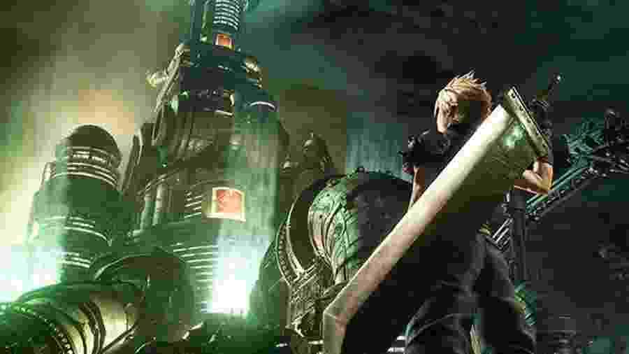 Final Fantasy 7 Remake poderá ser jogado na BGS 2019 - Divulgação