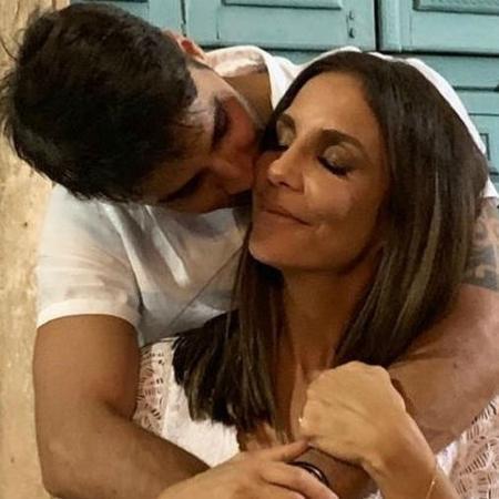 Ivete Sangalo ganha chamego do marido, Daniel Cady - Reprodução/Instagram