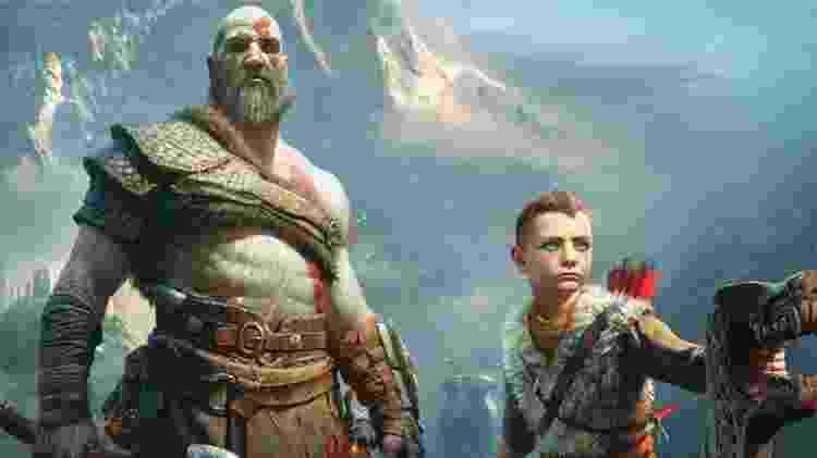 God of War foi um dos principais jogos exclusivos de PS4 - Divulgação