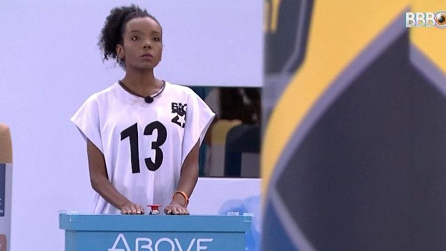 Thelma foi a sexta eliminada da prova do líder desta semana - Reprodução/GlobosatPlay