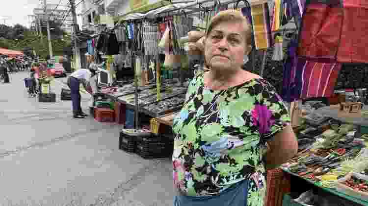 Feirante Shirley Pedroso, 67 - Janaina Garcia/UOL - Janaina Garcia/UOL