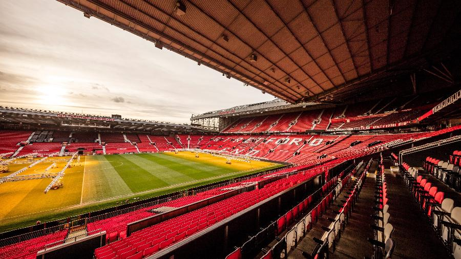 Jogos em Old Trafford sem torcida afetaram de maneira pesada os cofres do clube inglês - VistitBritain