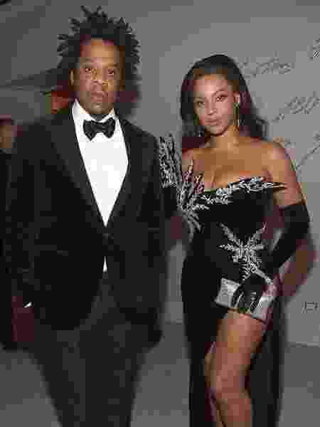 Jay-Z e sua mulher, Beyoncé - Reprodução/Instagram
