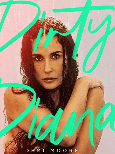 """Demi Moore na capa do podcast erótico """"Dirty Diana"""" - Reprodução/Facebook"""
