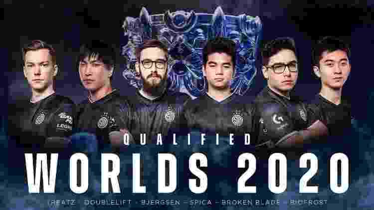 TSM Worlds Mundial LoL 2020 - Divulgação/TeamSoloMid - Divulgação/TeamSoloMid