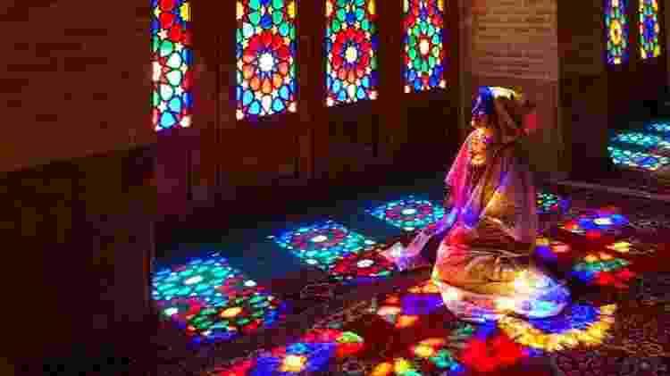 Ana Vieira em Shiraz, Irã - Arquivo pessoal - Arquivo pessoal
