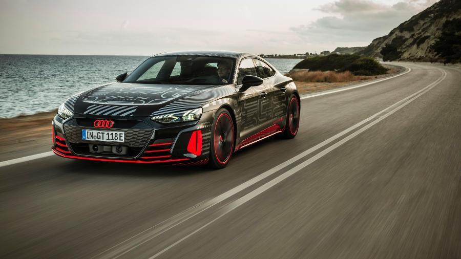 Audi RS e-tron GT  - Divulgação