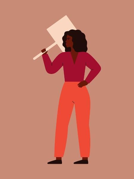"""""""Os ataques são voltados ao corpo da mulher ou relacionados a estereótipos de gêneros"""", disse Tássia Rabelo, doutora em ciência política - Ponomariova_Maria/Getty Images/iStockphoto"""