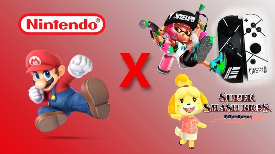 Nintendo contra o mundo - Montagem: Allan Francisco / Reprodução (Nintendo)