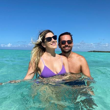 Dani Calabresa e Richard Neuman em Punta Cana - Reprodução/Instagram