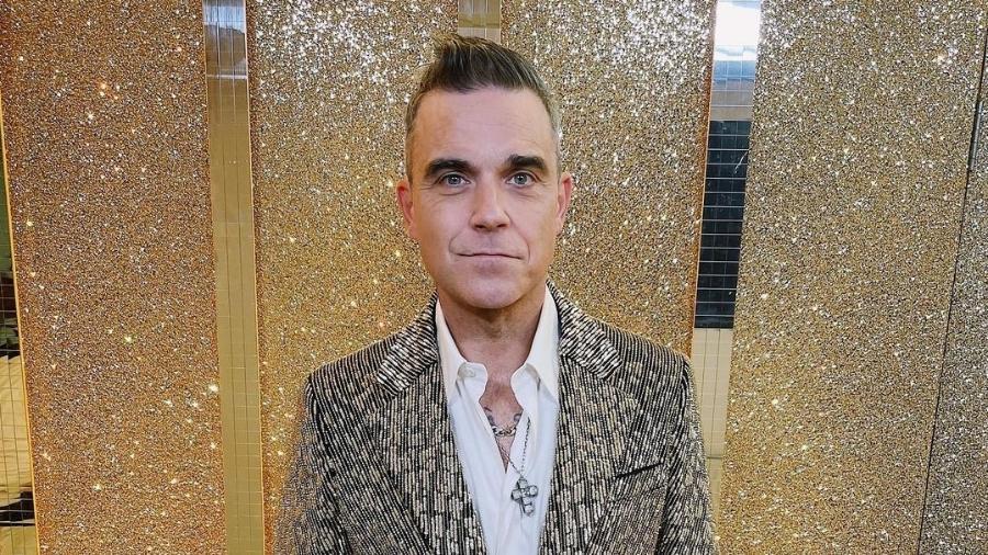 Robbie Williams selou a paz com Liam Gallagher em 2020 - Reprodução/Instagram