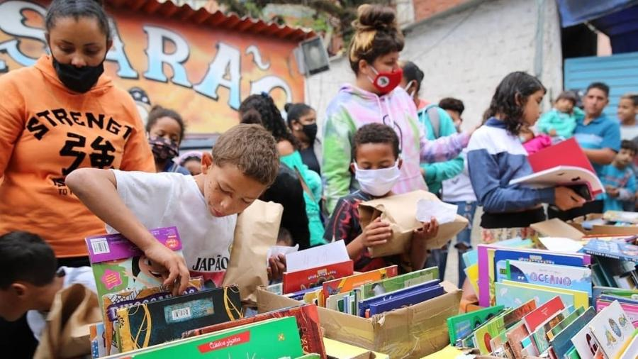 Ação do Sopão das Manas, em São Paulo. - Marina Sapienza