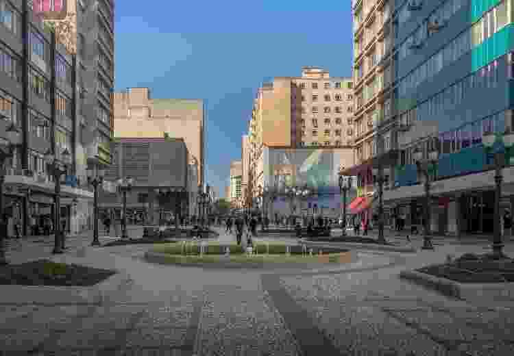 Rua das Flores, Curitiba - Getty Images - Getty Images