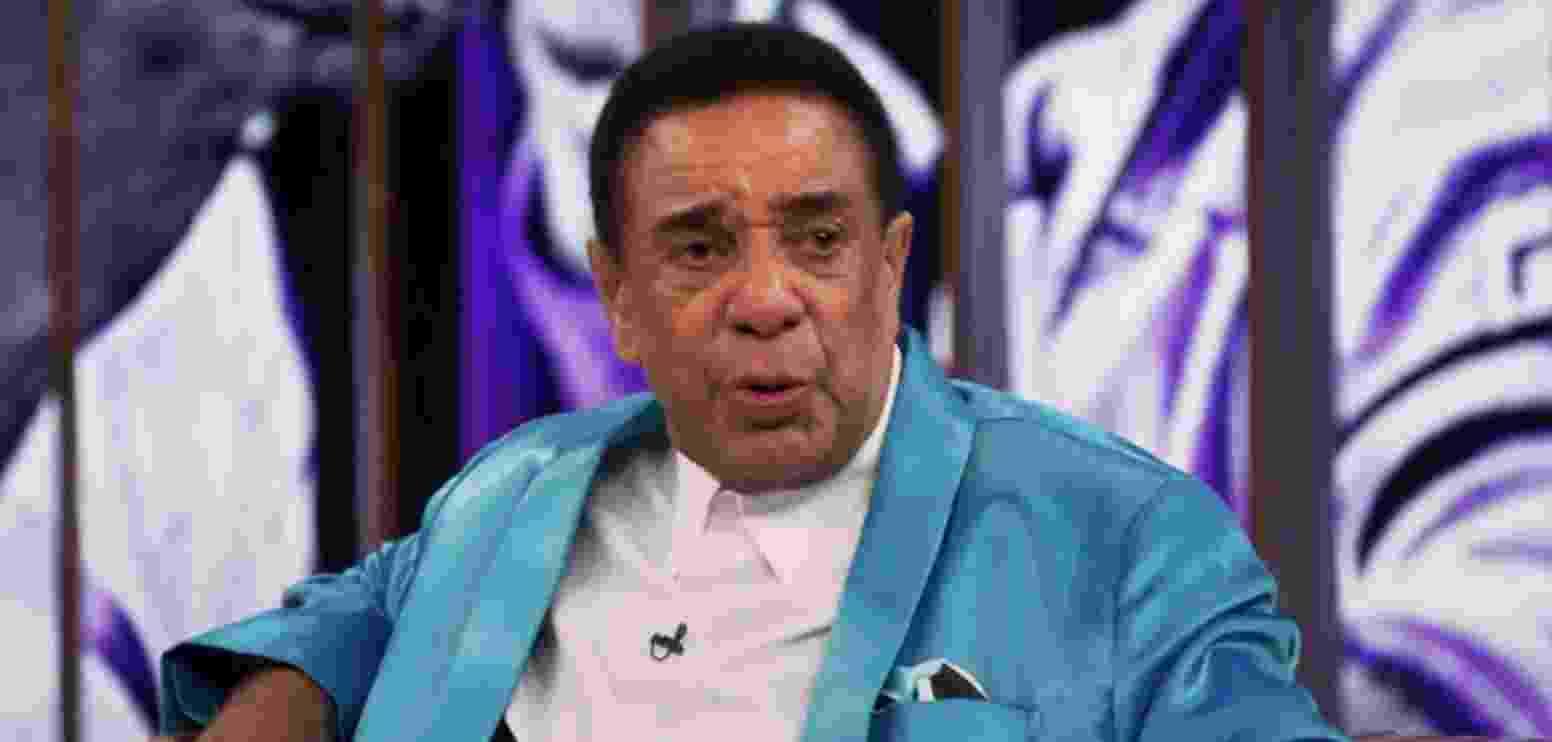 """Agnaldo Timóteo, que morreu aos 84 anos, é natural de Caratinga (MG) e foi conhecido como o """"Cauby Mineiro"""" no começo da carreira. - Reprodução/TV Globo"""