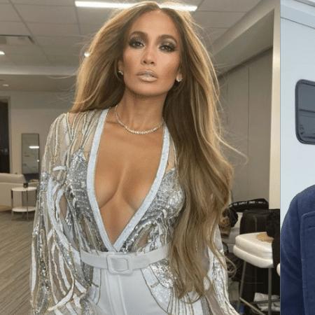 Jennifer Lopez e Ben Affleck - Reprodução/Instagram