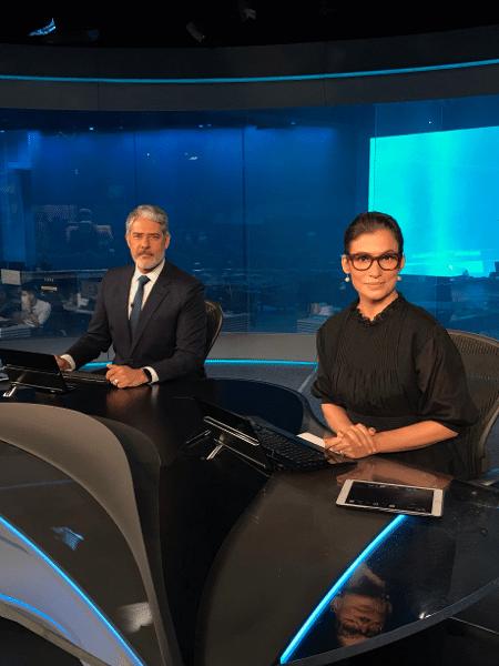 William Bonner e Renata Vasconcellos anunciaram a nova iniciativa da Globo - Reprodução/Twitter