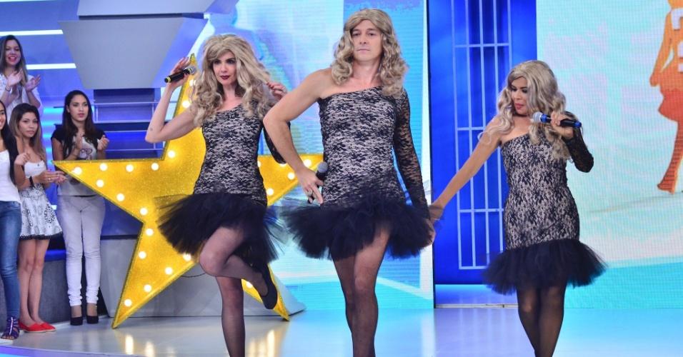 Luciana Gimenez grava participação no especial