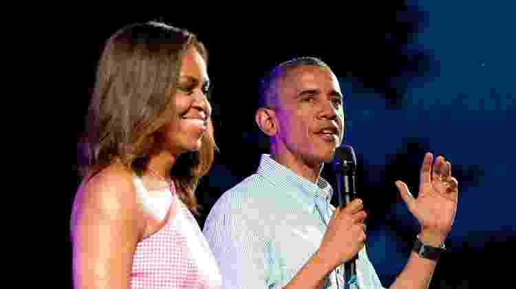 Michelle e Obama - Getty Images