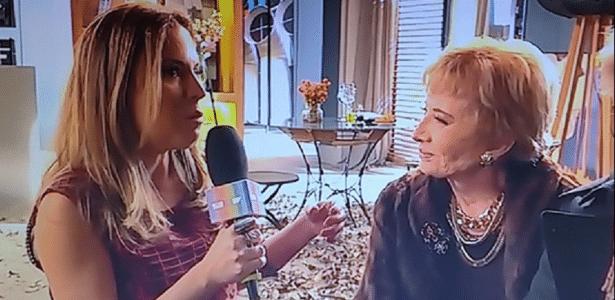 """Maira Charken reaparece como repórter do """"Vídeo Show"""" - Reprodução/TV Globo"""