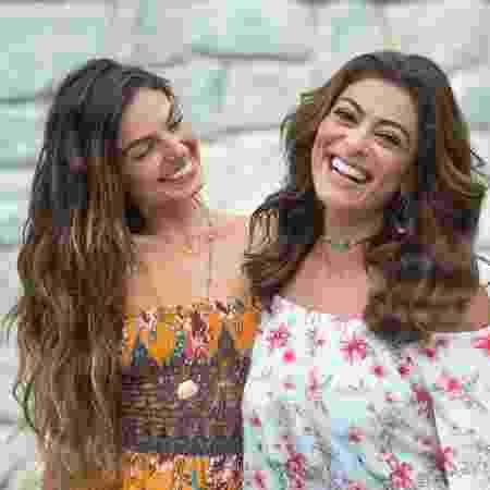 """Ritinha (Isis Valverde) e Bibi (Juliana Paes) juntas em """"A Força do Querer"""" - Estevam Avellar/Divulgação/TV Globo"""