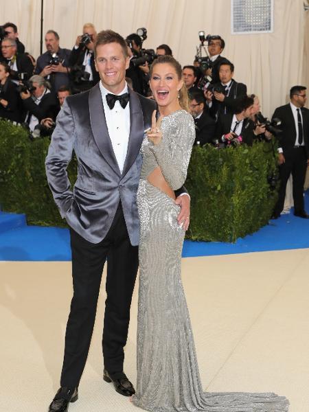 Gisele Bündchen e Tom Brady - Getty Images