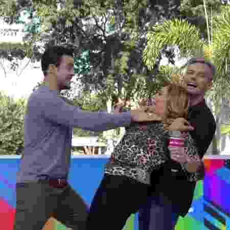 """Susana Vieira refaz no """"Vídeo Show"""" cena de enforcamento em """"Os Dias Eram Assim"""" - Reprodução/TV Globo - Reprodução/TV Globo"""