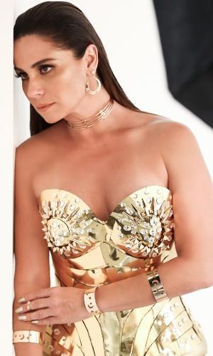 4e0fa4f41a Giovanna Antonelli posa para ensaio de coleção de joias em São Paulo