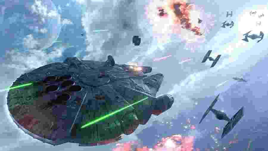 Estamos longe de uma cena de Star Wars Battlefront... mas não tão longe - Divulgação