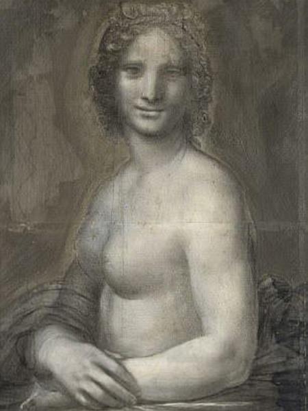 Mona Lisa nua, supostamente feita por Da Vinci - Heritage Images/Getty Images